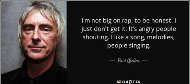 Paul Weller, l'uomo cangiante ha compiuto 59 anni.