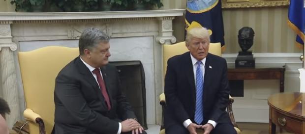 President Trump Meets with President Petro Poroshenko of Ukraine -YouTube/The White House