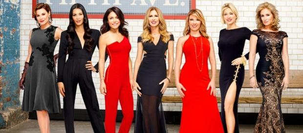 RHONY promo photo via BN library
