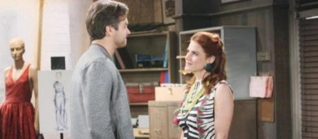 """""""The Bold and the Beautiful"""" spoilers reveal that jealousy is brewing between Saul and Thomas. Photo - sheknows.com"""