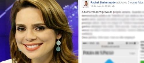 A jornalista resolveu 'relembrar' algumas situações envolvendo Monica Iozzi