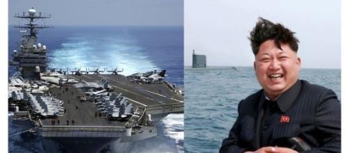 Alta tensione nel Pacifico, arriva la USS Nimitz - RTL II News/Corriere della Sera
