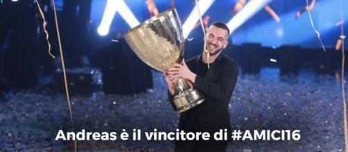 #AndreasMuller è il vincitore di #Amici16. #BlastingNews