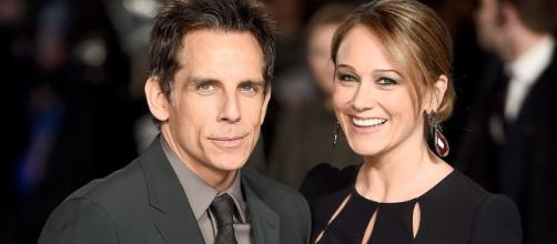Ben Stiller and Christine Taylor [via Blasting News Library]