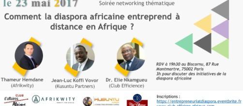 Comment la diaspora africaine entreprend à distance - Soirée ... - eventbrite.fr