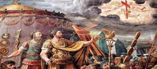 """El emperador Constantino vio una """"cruz en el cielo"""" que le hizo convertirse al cristianismo."""
