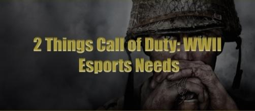 "Everyone is excited for ""Call of Duty: WWII"", but it will need two things if it wants its esports scene to be successful. (Via-Nicholas Barth)"