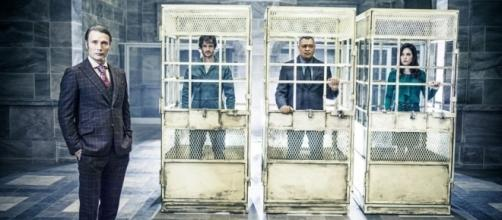 Hannibal Lecter, Will Graham, Jack Crawford y Alana Bloom (via Televisión | EL PAÍS - elpais.com)