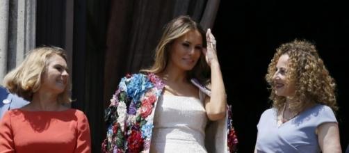 Melania Trump wears $51K Dolce & Gabbana jacket in Sicily ... - mix965tulsa.com