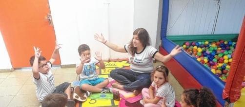 A brincadeira também é uma forma de educação