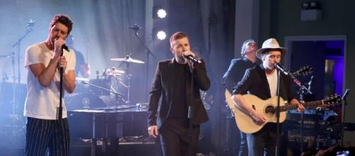Take That promise Manchester concert [Image via Blasting News Library]