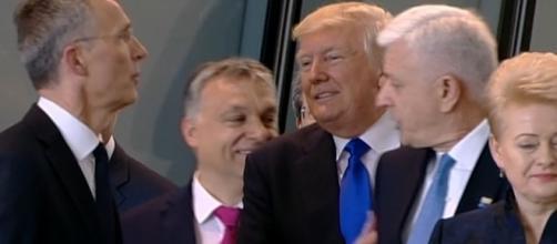 Trump pushes around NATO - Photo: Blasting News Library - cnn.com