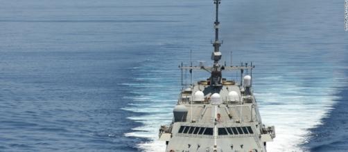U.S. warship sails close to Chinese artificial island ... - cnn.com