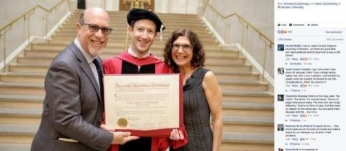 Zuckerberg gets political in Harvard speech - Honolulu, Hawaii ... - kitv.com