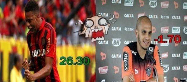 André pontuando bem e Fábio Santos decepcionando