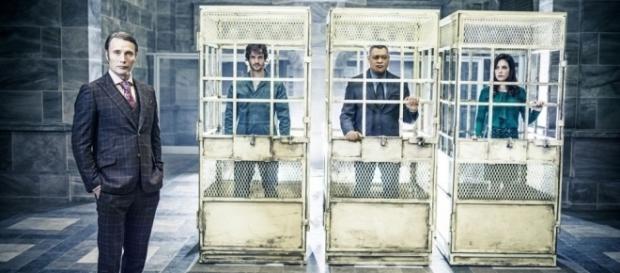 Hannibal Lecter, Will Graham, Jack Crawford y Alana Bloom (via Televisión | EL PAÍS - elpais.com)