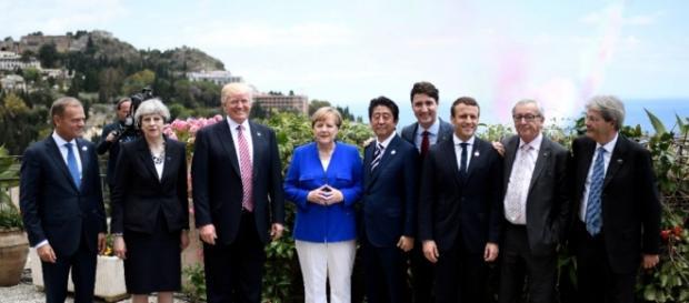 Macron au G7 : consensus sur le terrorisme, blocage sur le climat ... - leparisien.fr