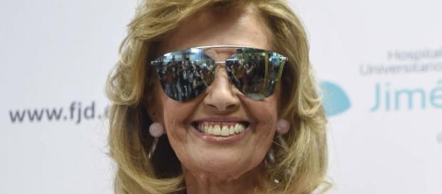 Primera imagen de María Teresa Campos al recibir el alta tras el ... - bekia.es