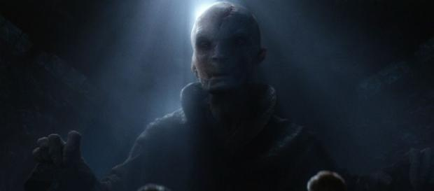 Star Wars Episode 8' Rumor: Snoke's Name / Photo screencap from MIKE ZEROH via Youtube
