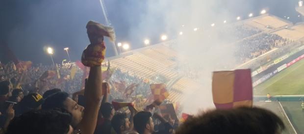 Tanti spettatori per Lecce- Alessandria.