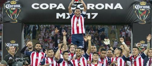 Chivas se coronó campeón del Torneo de Copa del fútbol mexicano. - sensaciondeportiva.com