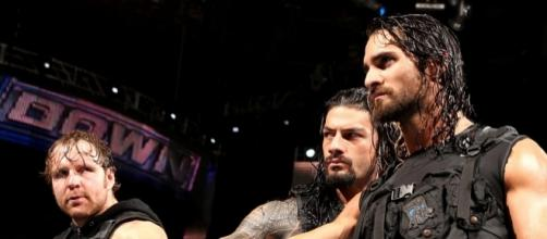 Dean Ambrose, Seth Rollins and Roman Reigns all appear on 'Monday Night Raw.' [Image via Blasting News image library/bleacherreport.com]