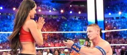 John Cena & Nikki Bella Are Engaged! WWE Star Proposes to Longtime ... - eonline.com