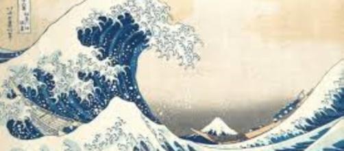 "Katsushika Hokusai's ""The Wave."" - britishmuseum.org"