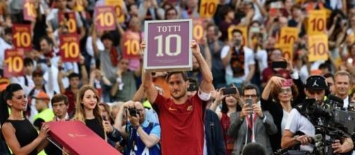 L'addio al calcio di Fransceso Totti