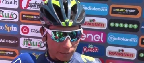 Nairo Quintana, secondo in classifica al Giro d'Italia