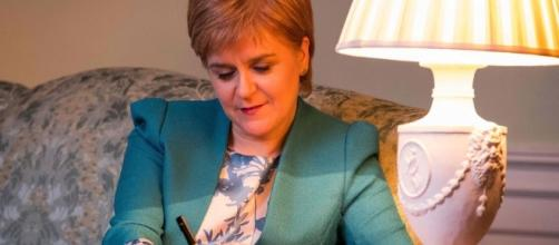 Nicola Sturgeon writes to Theresa May formally demanding second ... - thesun.co.uk