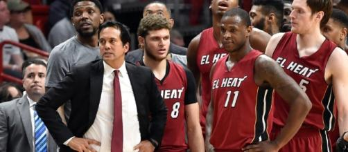 The Miami Heat will select at No. 14 in the 2017 NBA Draft with several options there. [Image via Blasting News image library/usatoday.com]