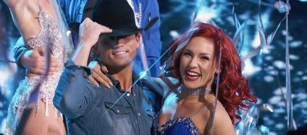 Bonner Bolton Downplays Date Night With 'DWTS' Partner Sharna Burgess -Screenshot