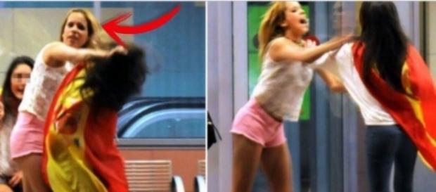 La agresión de Gloria Camila a otra chica