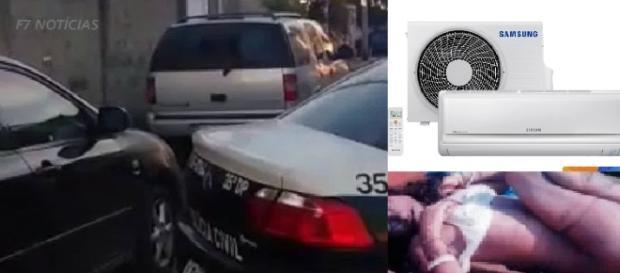 Mulher foi encontrada dentro do porta-malas do carro do marido