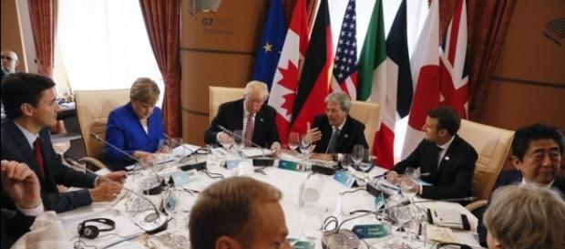 Trump leaves G-7 summit undecided on America's status in climate ... - pressherald.com