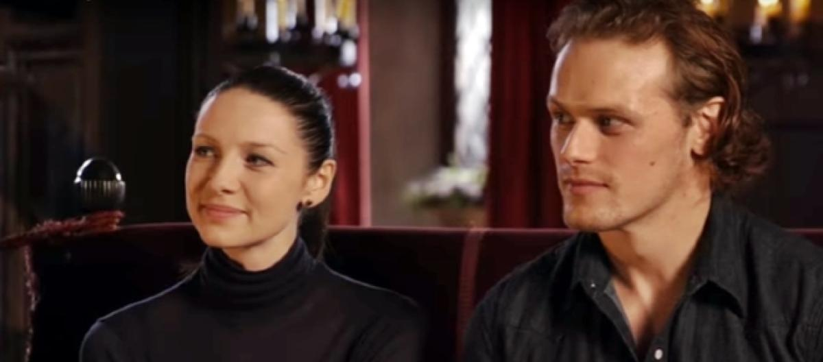 Sam and caitriona dating 2017