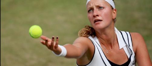 Czech tennis player Petra Kvitova / Photo by Pavel Lebeda via creative commons wiki