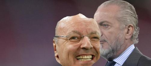 De Laurentiis e gli acquisti della Juve