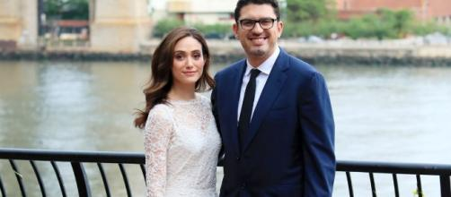 Emmy Rossum of 'Shameless' fame marries 'Mr. Robot' Creator Sam Esmail. Photo by Blasting News Library - longroom.com