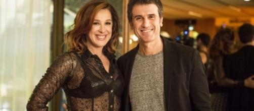 Eriberto e Claudia causam clima sobre apresentação do ator