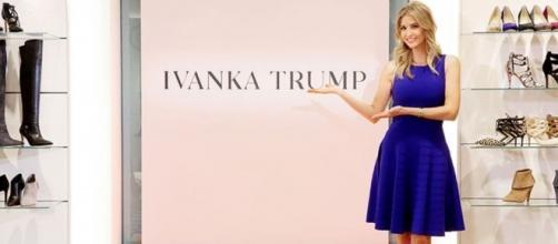 Ivanka Trump, la First Daughter d'America e la sua omonima linea di abbigliamento sotto accusa.