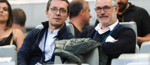Jacques-Henri Eyraud et Andoni Zubizarreta