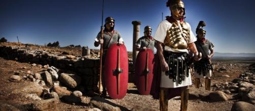 Recordando el sitio de Numancia. Foto: Diego Mayor