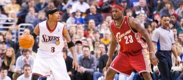 2c106e06e6c158 Allen Iverson knew LeBron  was going to be special  a long time ago