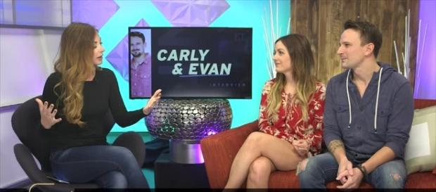 Bachelor In Paradise' Couples Getting Married? Carly And Evan Look - Screenshot