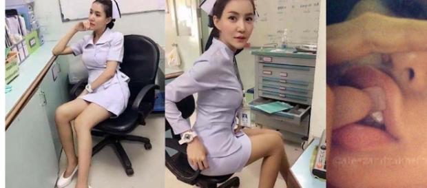 Parichat 'Pang' Chatsri, de 26 anos, perdeu o seu emprego por motivo inusitado