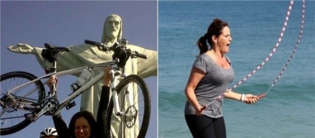 Renata Ceribelli costuma fazer algumas atividades físicas