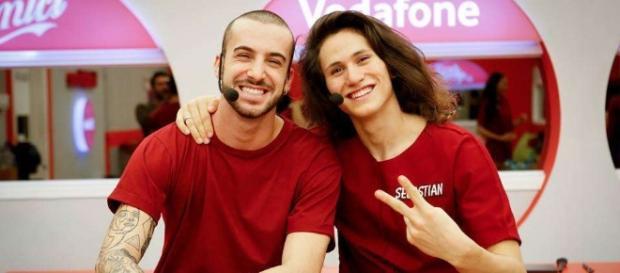 Sebastian Melo e Andreas Müller