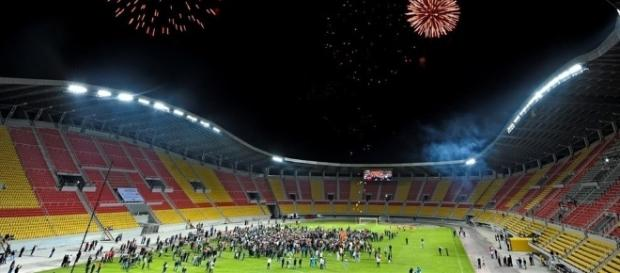 The Arena in Skopje which will host the UEFA Supercup in August - uefa.om